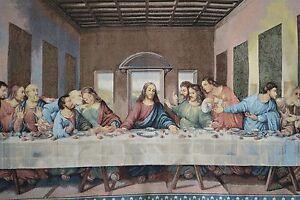 Last Supper Tapestry | eBay Da Vinci Last Supper High Resolution