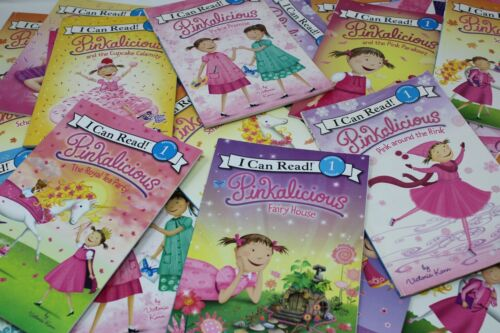 Pinkalicious I Can Read - Lot of 10 Books - Random -  Free Shipping!