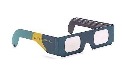 2 Stück Sonnenfinsternisbrille, Sofi Brille für die nächste Sonnenfinsternis