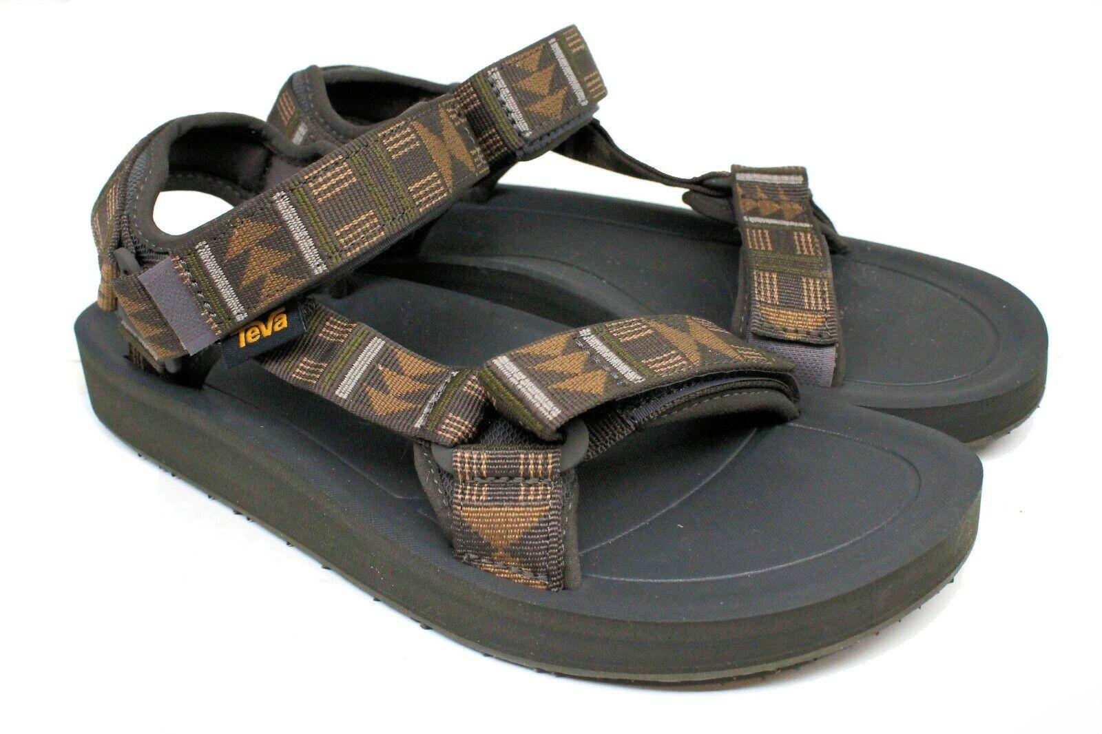 Men's Teva® Original Universal Premier Brown Sandals Size 14