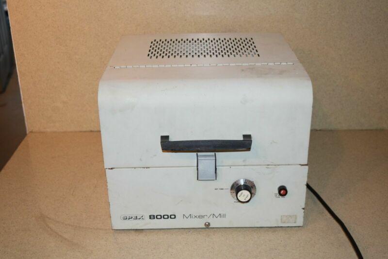 SPEX MODEL 8000 MIXER/MILL