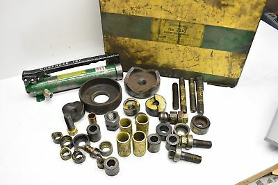 Greenlee Knockout Punch Driver Set No. 7310 Incomplete Set W Added Pieces