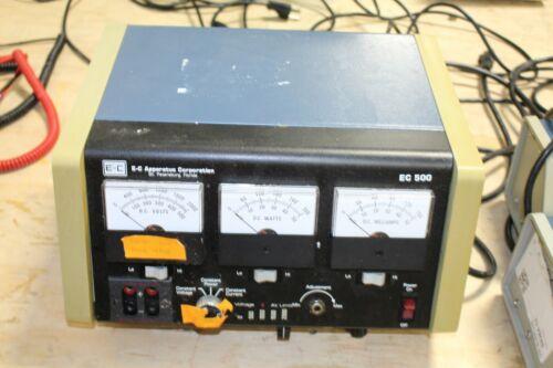 E-C Apparatus EC 500 Electrophoresis Power Supply