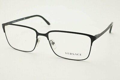 New Authentic Versace 1232 Men's Eyeglasses 1261 Black Frames 56mm