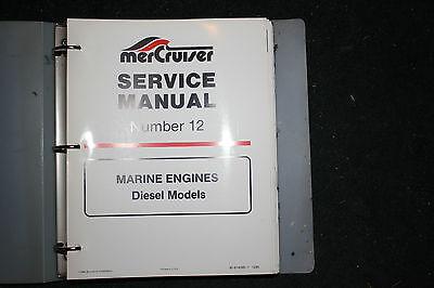 Mercruiser Marine Service Manual Number 12 In-Line Diesel 90-814099