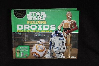 Star Wars Builders Droids Book Model Kit C 3Po  R2 D2  Bb 8  New