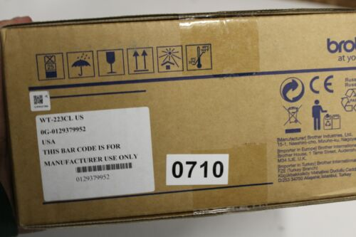 710  Brother Genuine WT-223CL Waste Toner Box WT223CL