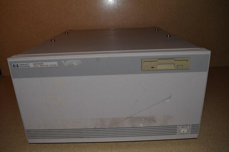 ? HEWLETT PACKARD 16700A LOGIC ANALYSIS SYSTEM (B6)