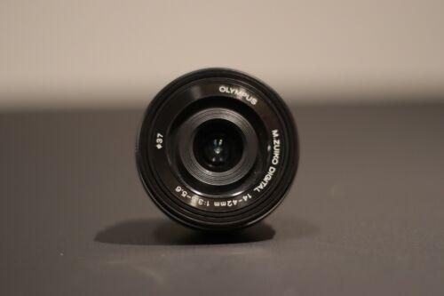 Olympus M.Zuiko Digital ED 14-42mm Lens - Black
