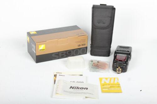 Nikon SB-900 Speedlight Shoe Mount Flash USA model
