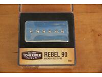 TONERIDER REBEL R90 GOLD SET P90  BUCKER Alnico II R90N R90B R90SET-GD Top Sound
