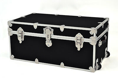 Rhino Storage Roller Trunk 31.5x18x14 for Camp, College & Dorm. USA Made