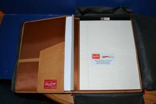 Rawlings Premium Heart of the Hide Leather Padfolio Notepad Item # HOHPFT