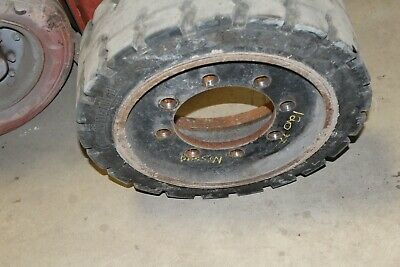 Nissan  Front Tire Drive Wheel Forklift Parts 21x7x15