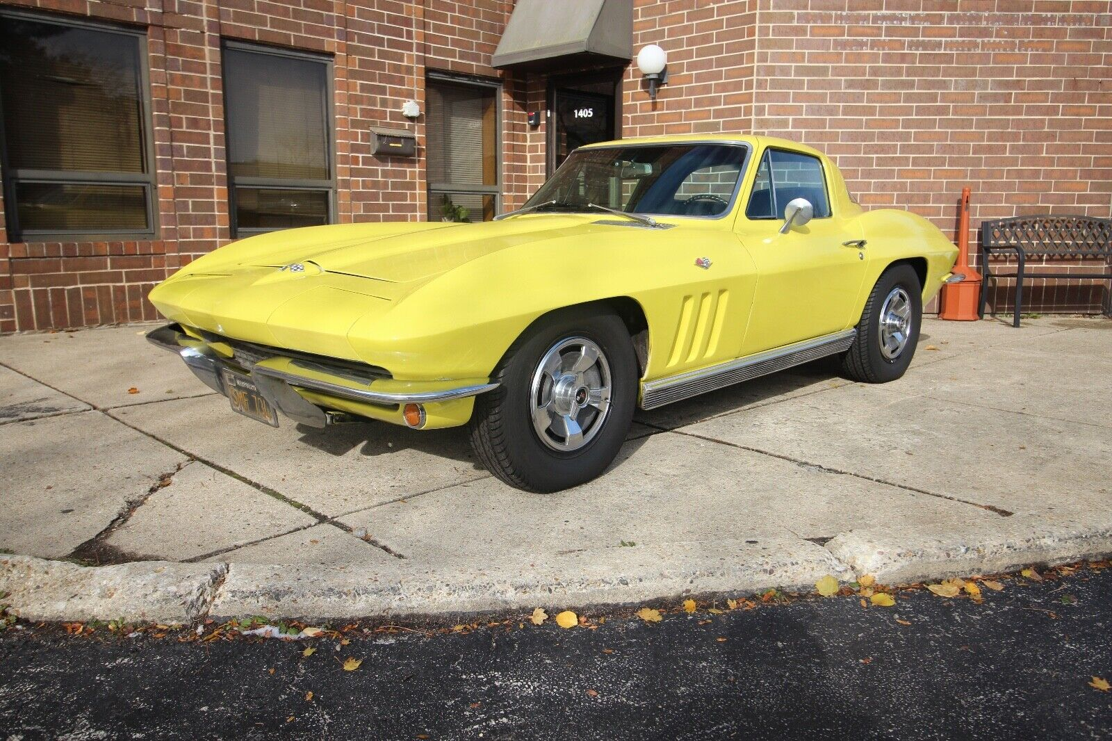1966 Yellow Chevrolet Corvette   | C2 Corvette Photo 1