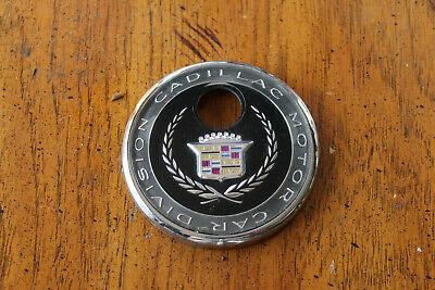 Cadillac Trunk Lid Emblem Key Lock Bezel Deville Eldorado 1992-2002 OEM Used