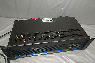 Vintage QSC MODEL 1200 PROFESSIONAL STEREO AMPLIFIER 120V  USA