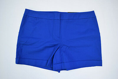 Rise Cuffed Short - NWT Apt. 9 Short Blue Mid Rise Cuffed Straight Size 16 NEW $40