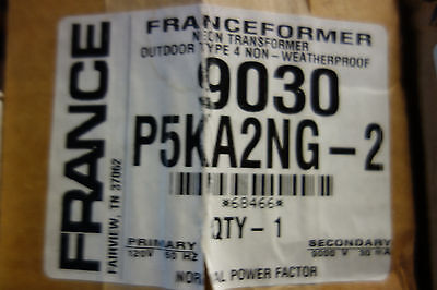 France Electric Sign Repair Parts 9030 P5ka2ng- Outdoor Type 2 Neon Transformer
