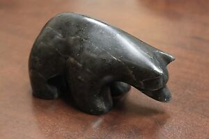 Ross-Parkinson-Soapstone-Carving-Bear