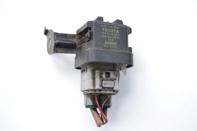 LEXUS IS 220d 2006 2AD-FHV RHD GLOW PLUG RELAY 28610-67010