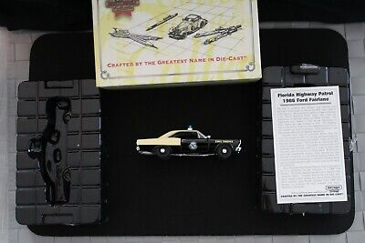 MATCHBOX COLLECTIBLES FORD FAIRLANE 1966 FLORIDA STATE POLICE CAR WITH COA