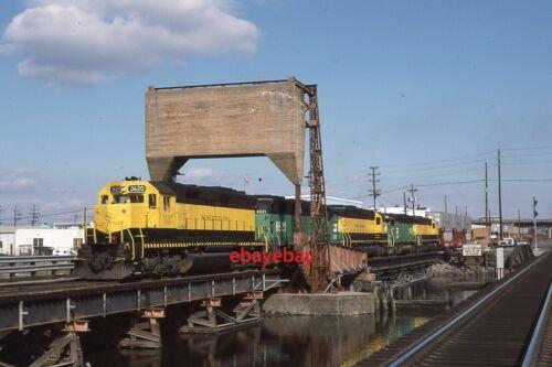 Original Railroad Slide - NYSW 3620 Little Ferry NJ