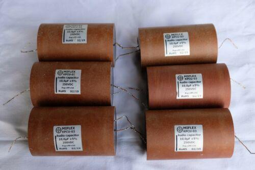 Miflex KPCU03 10Uf/250v capacitors