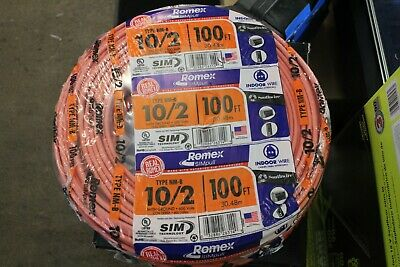 Southwire Romex Simpull 100-ft 10-2 Non-metallic Wire By-the-roll
