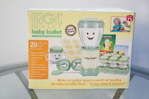 Magic Bullet Baby Bullet Care System with EXTRAS