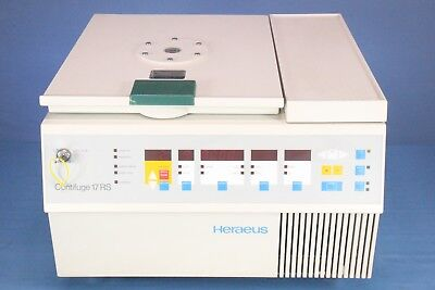 Heraeus Contifuge 17rs Refrigerated Centrifuge With Warranty