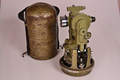 Excellent Wild T1a Theodolite Heerbrugg Switzerland Sn 153080 - Fast Shipping