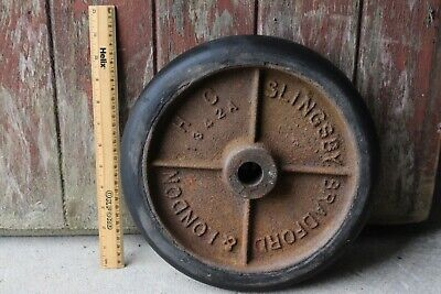 Vintage Wheel Cast Iron Slingsby Cart Collectors