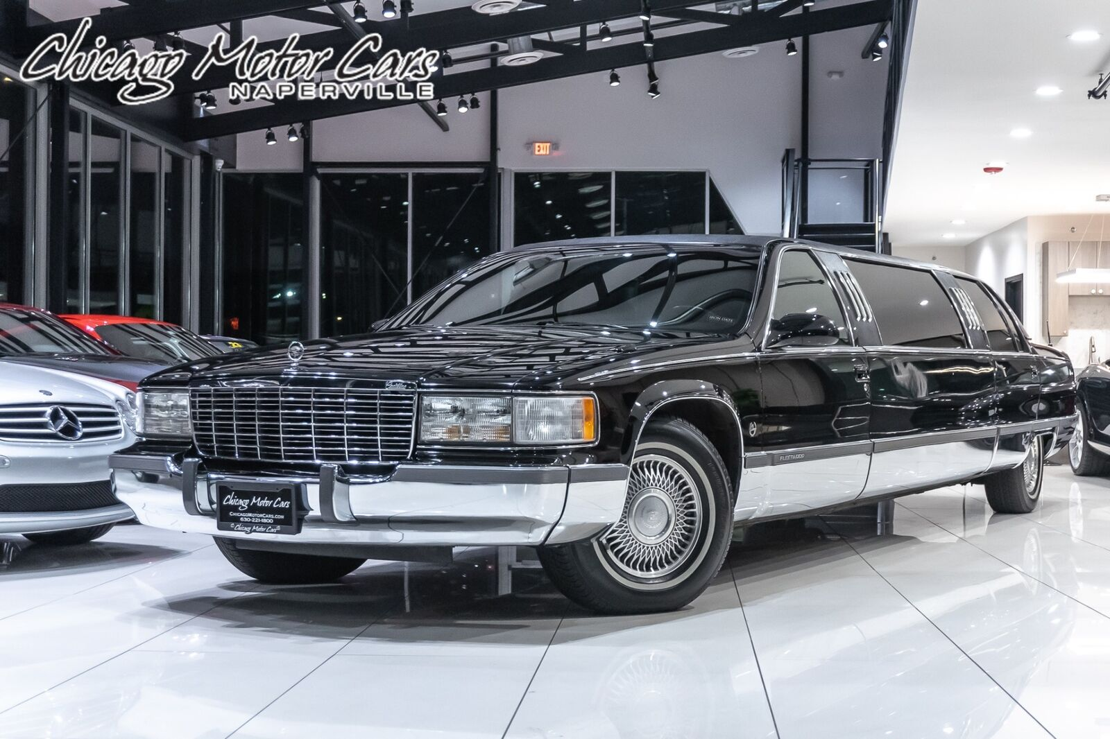 1996 Cadillac Fleetwood Limousine Rear Partition! Private Use Only! Servic V8 5.
