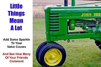 2 John Deere B - Stainless Valve Cover Acorn Nuts - Jd Vintage Tractor Nut