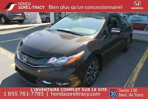 Honda Civic Coupe EX-L + NAVI + CUIR + PUSH + TOIT
