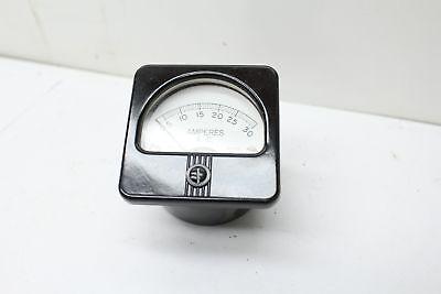 Hoyt Model 636 Amp Meter 0-30