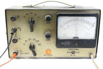 Vintage Analog Desktop Volt Ohm Multimeter Orion Made In Hungary