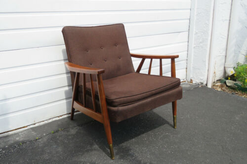 Mid Century Modern Living Bed Room Sling Side Chair 1238