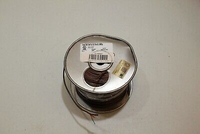 500 Ft. Roll Thermostat Wire 3 Solid Conducter 20 Awg Brown Outer With Red Gre
