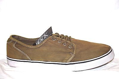 NEW Men's Lace Up Fender Tennis Canvas Shoes by The Buckle Size 13