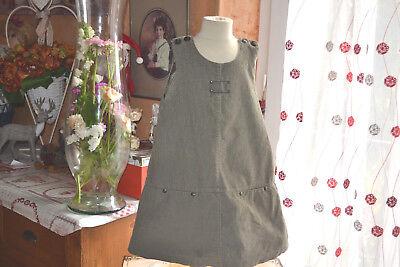Robe dior 4 ans doublee bronze boutons dior ideal avec un chemisier blanc