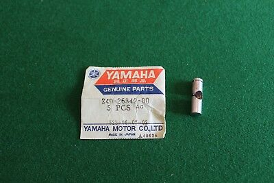 <em>YAMAHA</em> TD3 TR3 TZ250 TZ 350 FRONT BRAKE CABLES BALANCER CLEVIS PIN