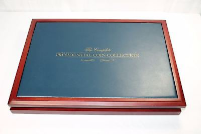 The Franklin Mint Presidential Coins Cherry Wood Collection Box Only No Coins