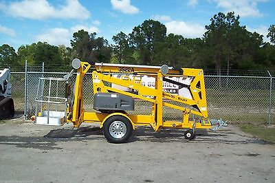 Haulotte 3522A 43' Towable Boom Lift, 20' Outreach,Formerly Known As Bil-Jax