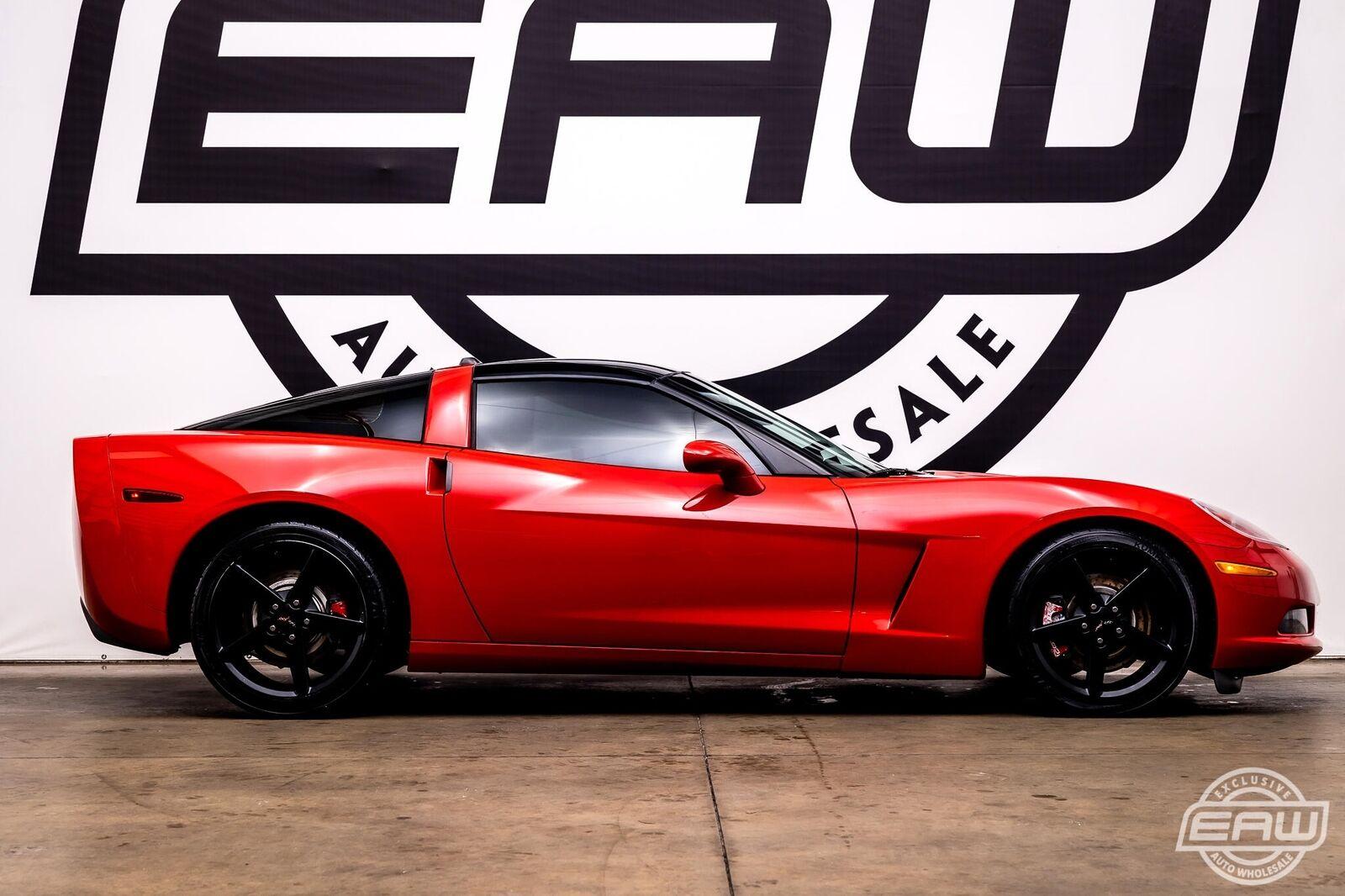 2005 Red Chevrolet Corvette Coupe  | C6 Corvette Photo 9