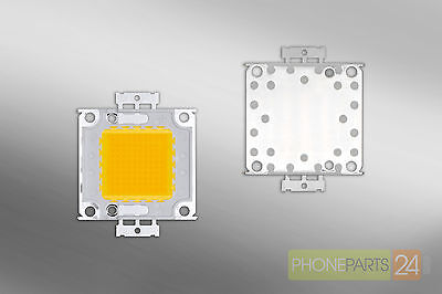 100W LED CHIP 2250MA 32 36V 8000 9000 LM HIGH POWER WARM WEISS 3000 3200K