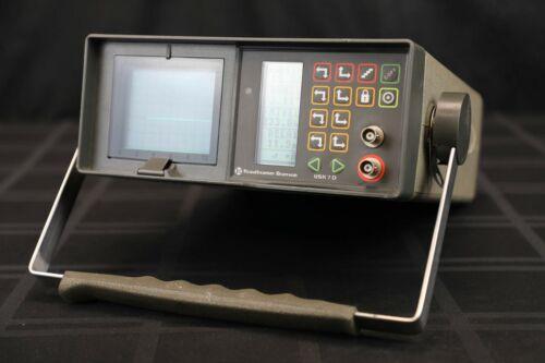 Krautkramer USK 7D Ultrasonic Flaw Detector Portable Analog/Digital NDT Handheld