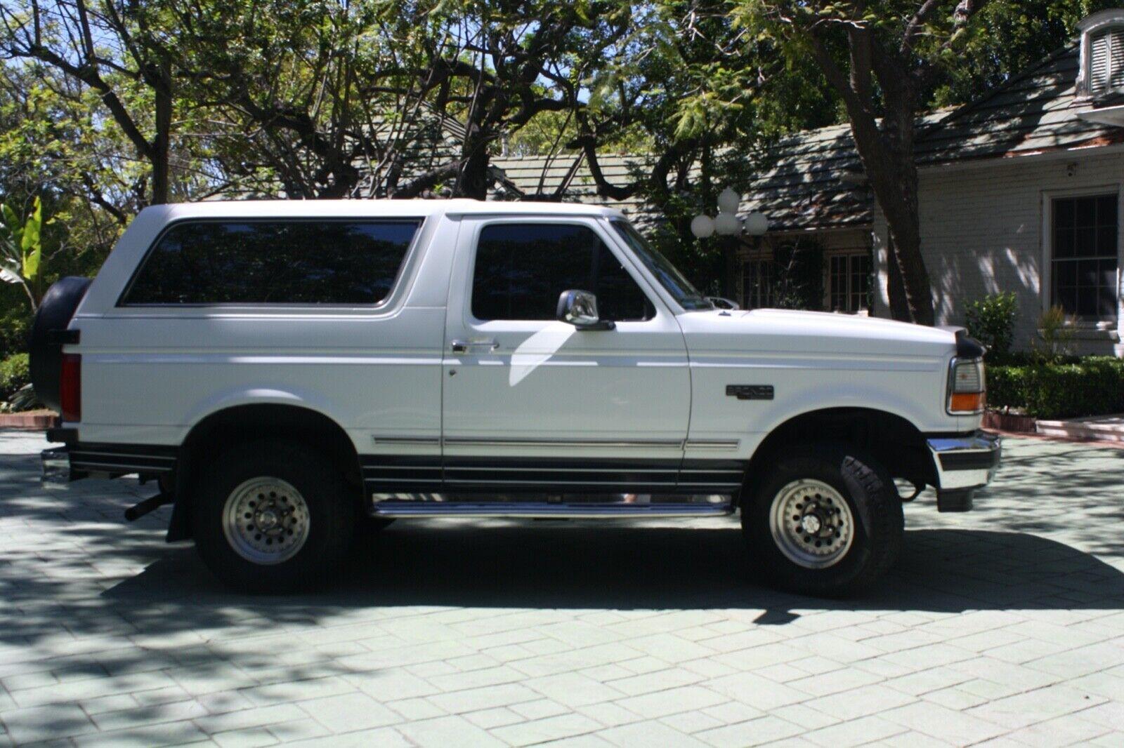 1 Owner 1993 Ford Bronco 351 5.8l V8 XLT