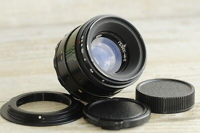 HELIOS 44-2  2/58 + adapter M42 Canon Lens Best Russian